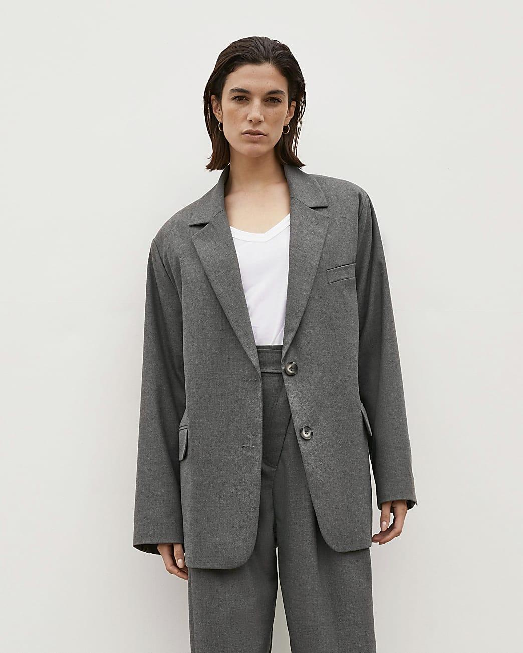 Grey RI Studio Oversized Blazer