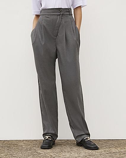 Grey RI Studio Straight Leg Trousers