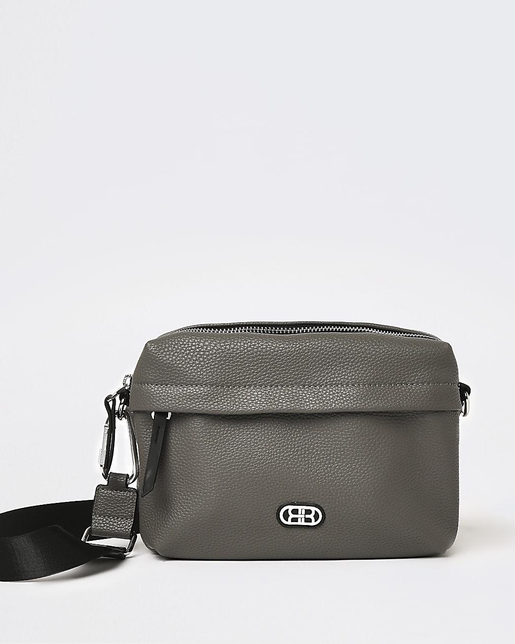 Grey RIR utility cross body bag