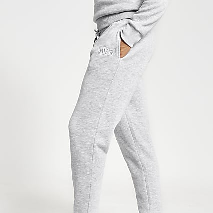 Grey RVR slim fit joggers