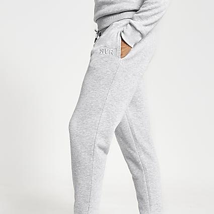 Grey RVR slim fit joggers