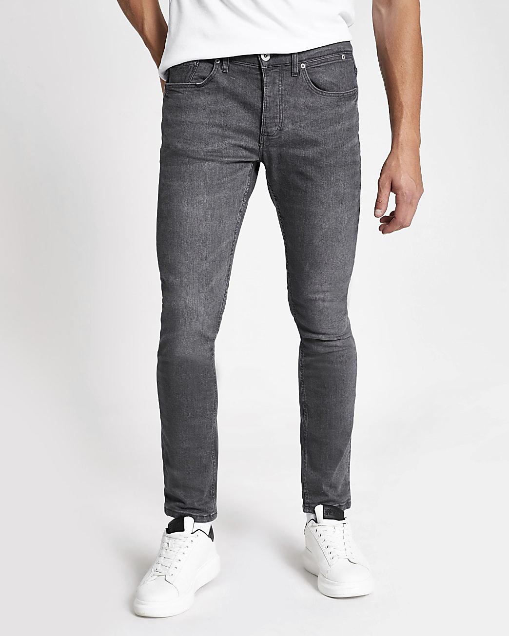 Grey skinny fit jeans
