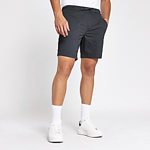Grey slim fit short