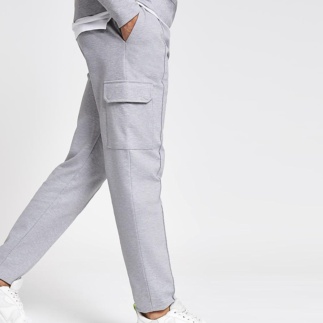 Pantalon de jogging slim gris utilitaire