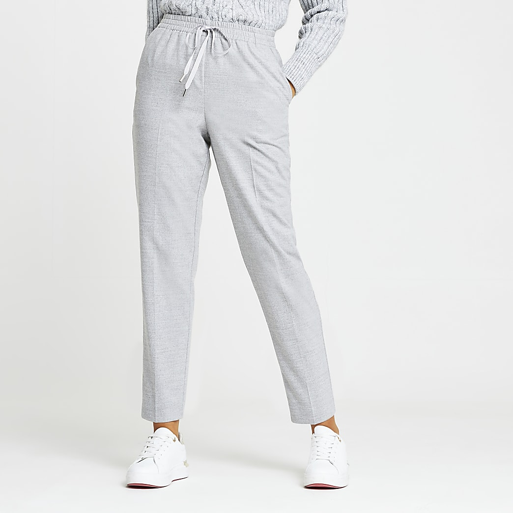 Grey Smart Tailored Jogger