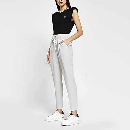 Grey Tapered Trouser