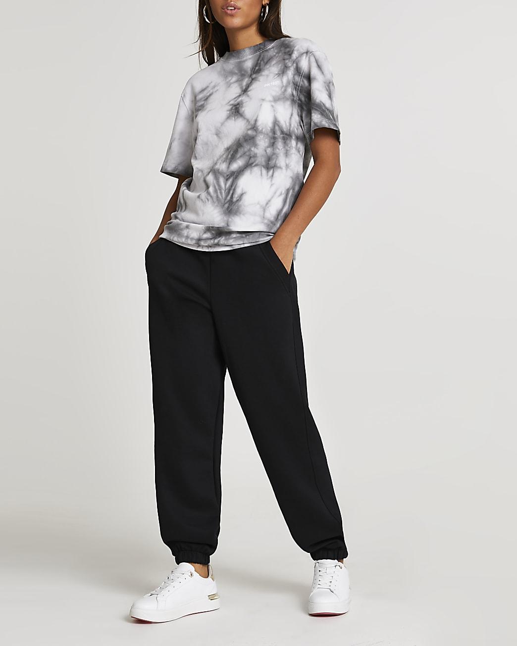 Grey tie dye oversized t-shirt
