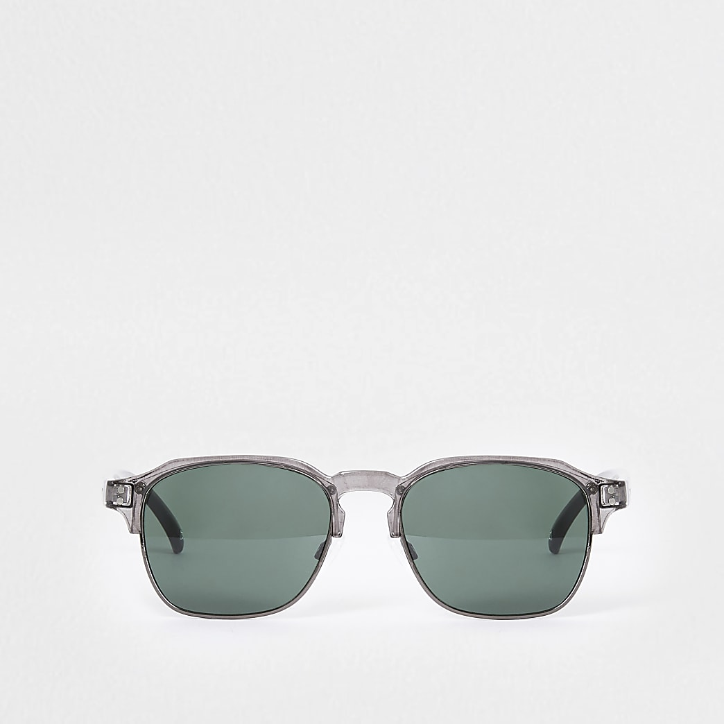 Grey tinted slim sunglasses