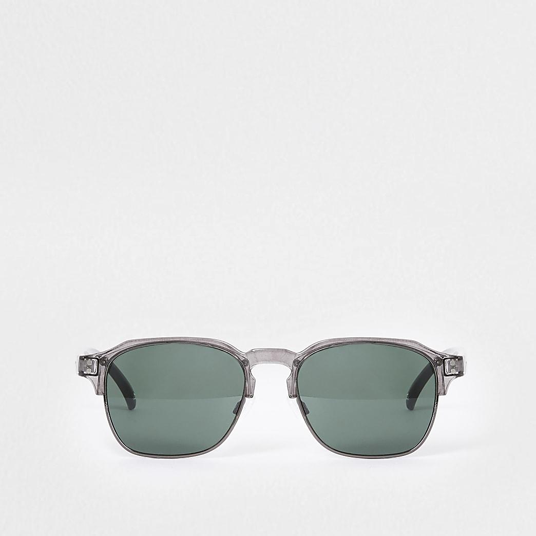 Grey tinted slim sunglasses