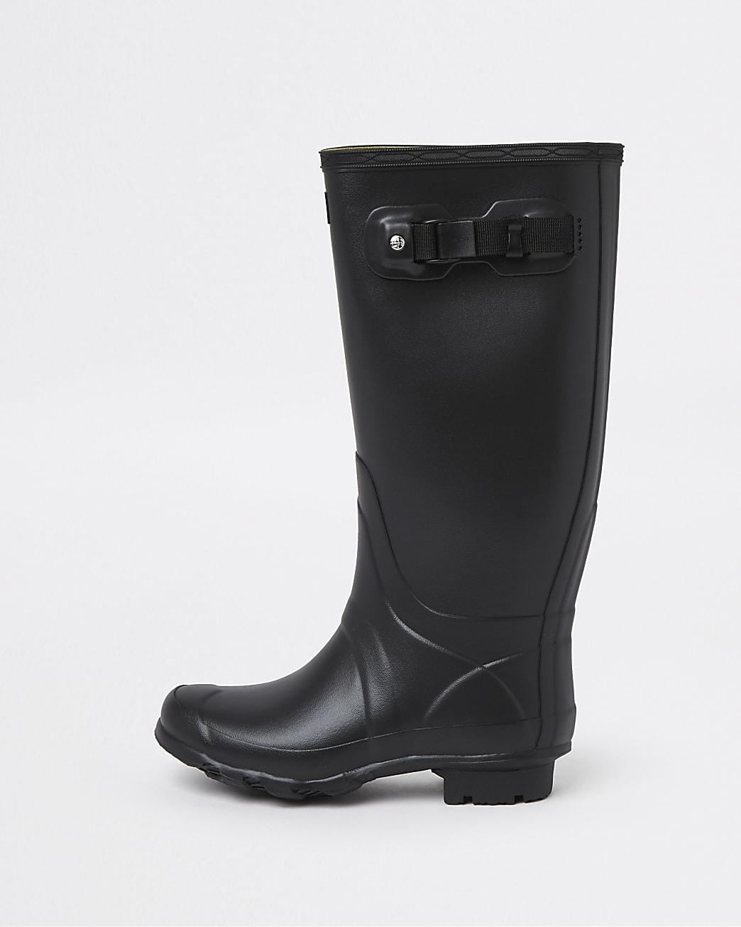 Hunter Original Black Patent Wellington Boots