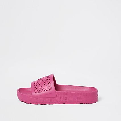 Hunter Pink Moulded Slider