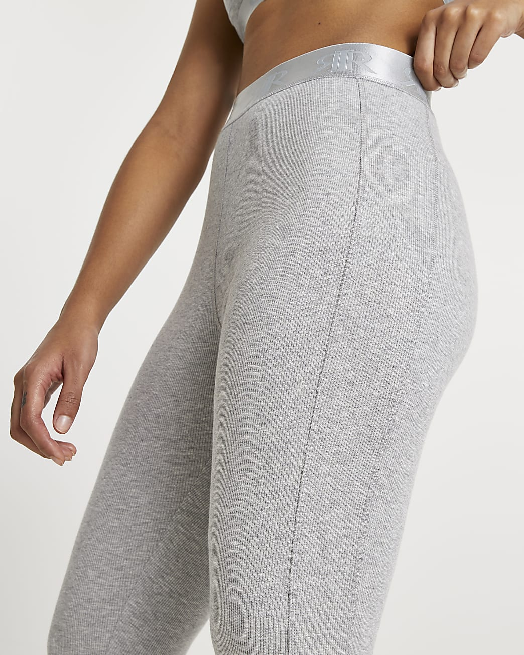Intimates grey seam detail leggings