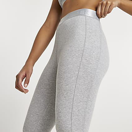 Intimates grey seam detail leggings