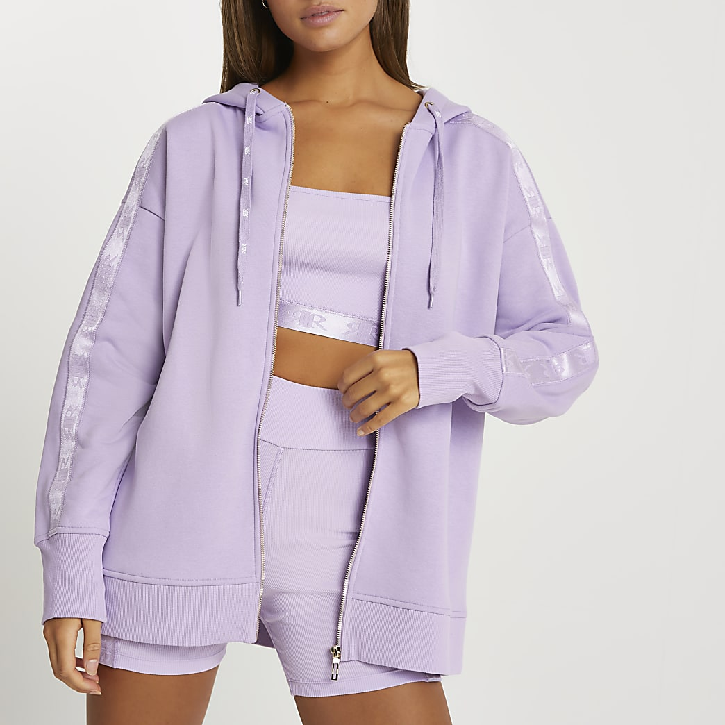 Intimates purple long sleeve hoodie
