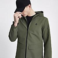 Jack & Jones Core green lightweight jacket