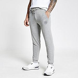 Jack and Jones– Pantalon de jogging gris clair