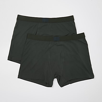 Khaki premium essentials trunks 2 pack