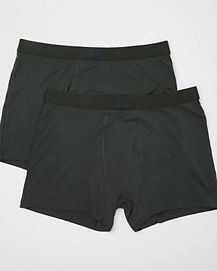 Khaki premium essentials trunks 2 pack