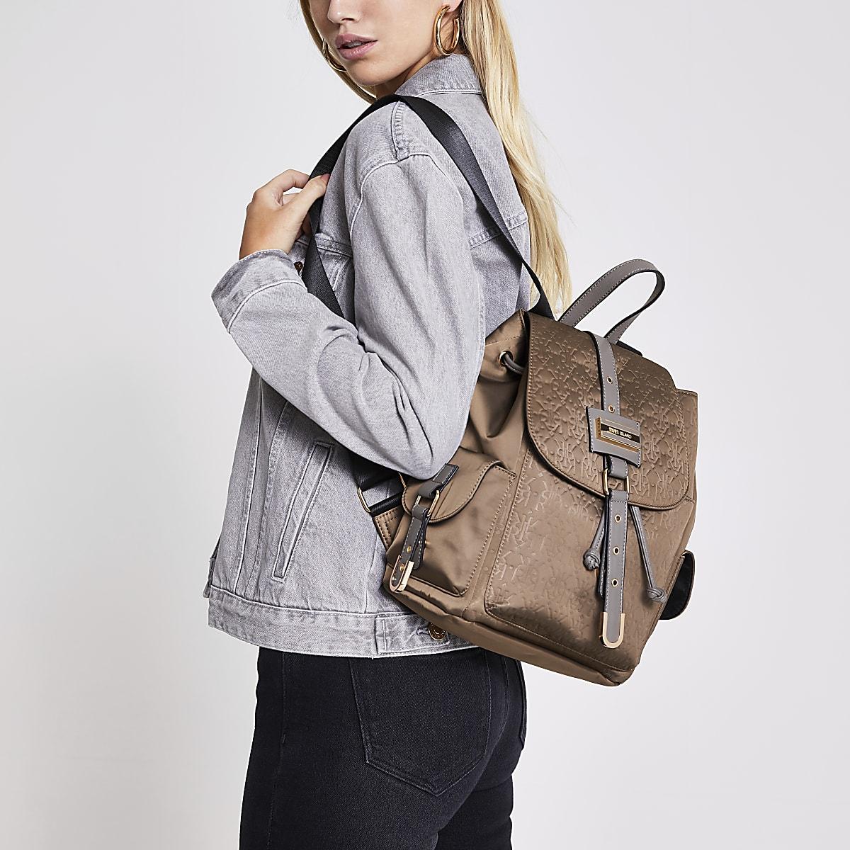 River Island handbag - brown backpack