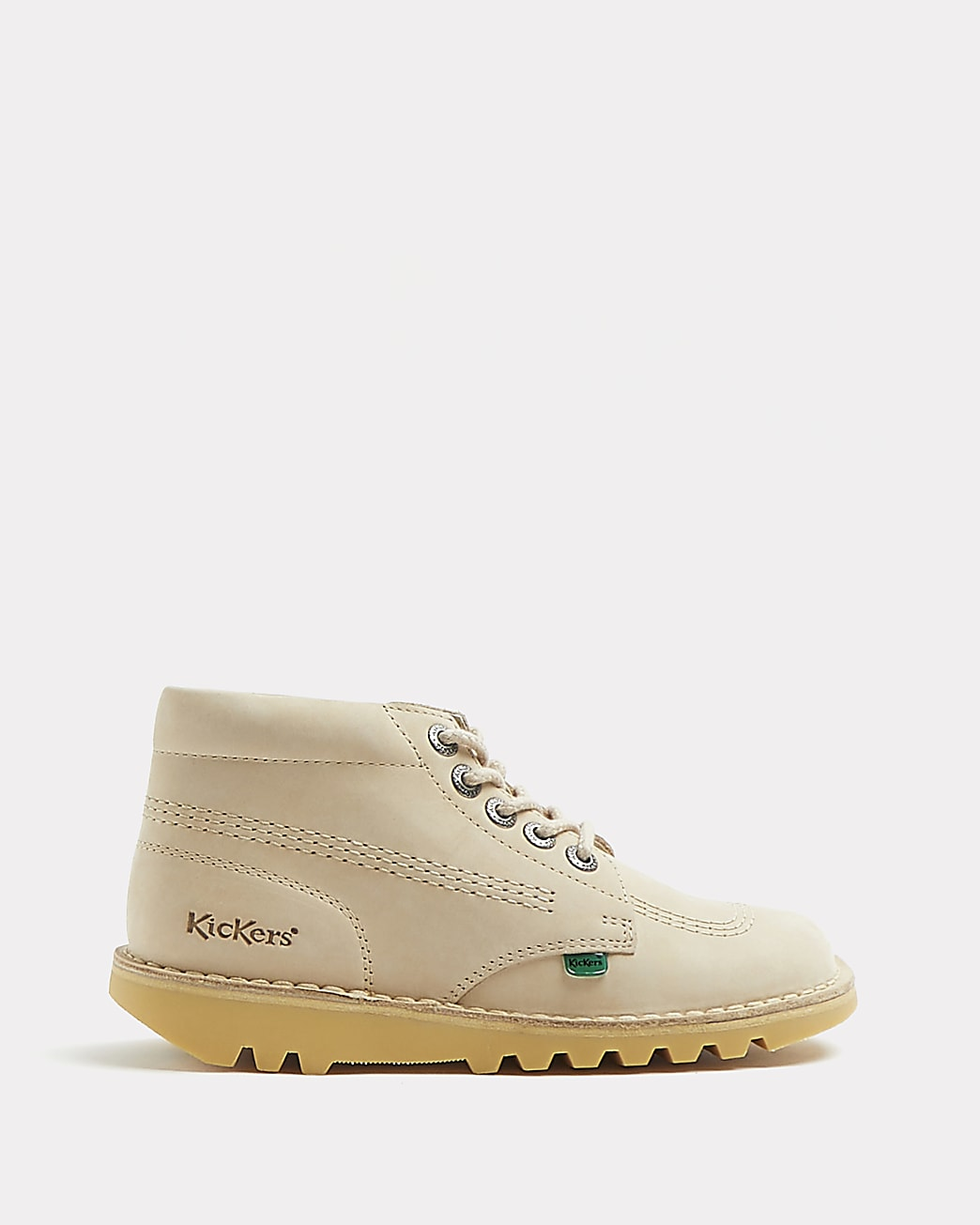 Kickers beige ankle boots