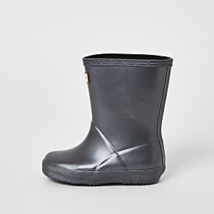 Kids Hunter Original black wellies