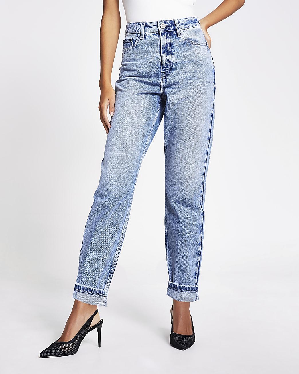 Light blue Carrie high waisted Mom jeans