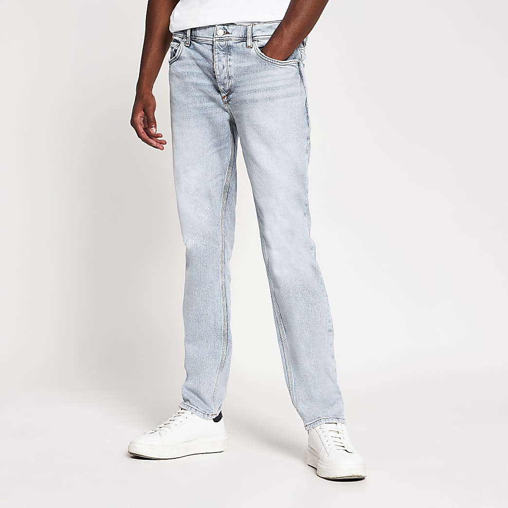 Light blue Dylan slim jeans