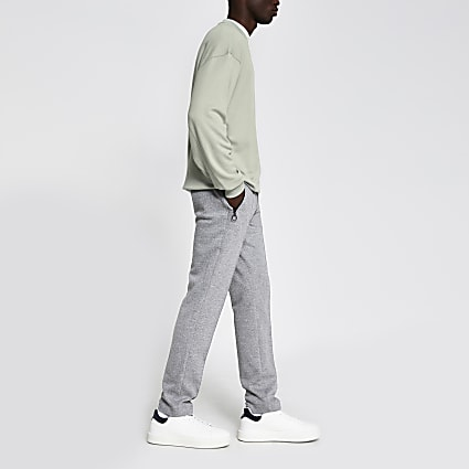 Light green boxy fit sweatshirt