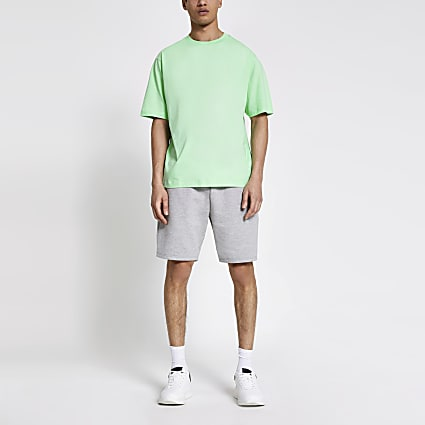 Light green oversized T-shirt
