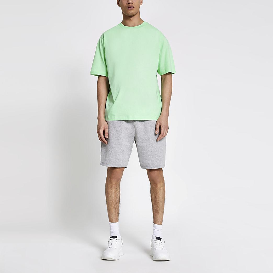 Light green oversized T-shirt