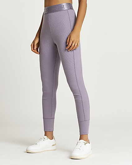 Lilac RI branded leggings