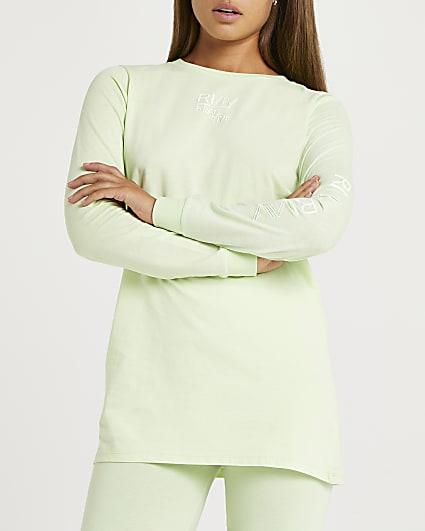 Lime RI Active long sleeve t-shirt