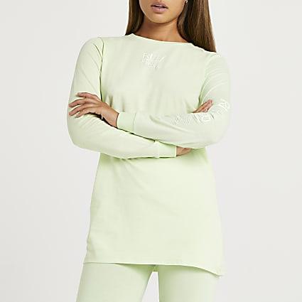 Lime RI Active long sleeve top