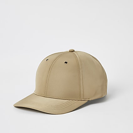 Maison Riviera beige nylon cap