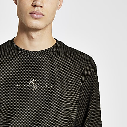 Maison Riviera black long sleeve t-shirt