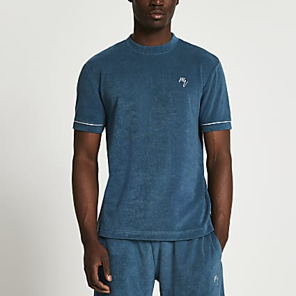 Maison Riviera green slim fit t-shirt