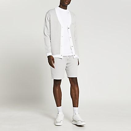 Maison Riviera grey picante shorts