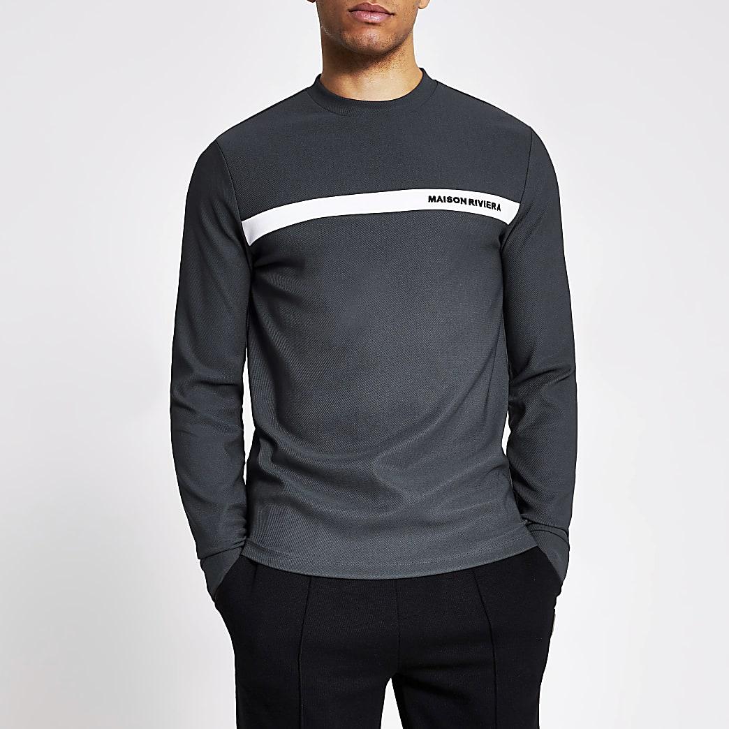 Maison Riviera - Grijs T-shirt