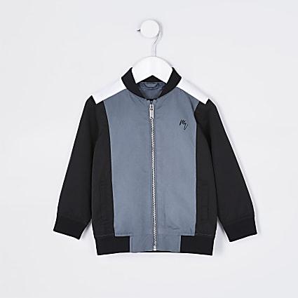 Maison Riviera mini boys navy bomber jacket