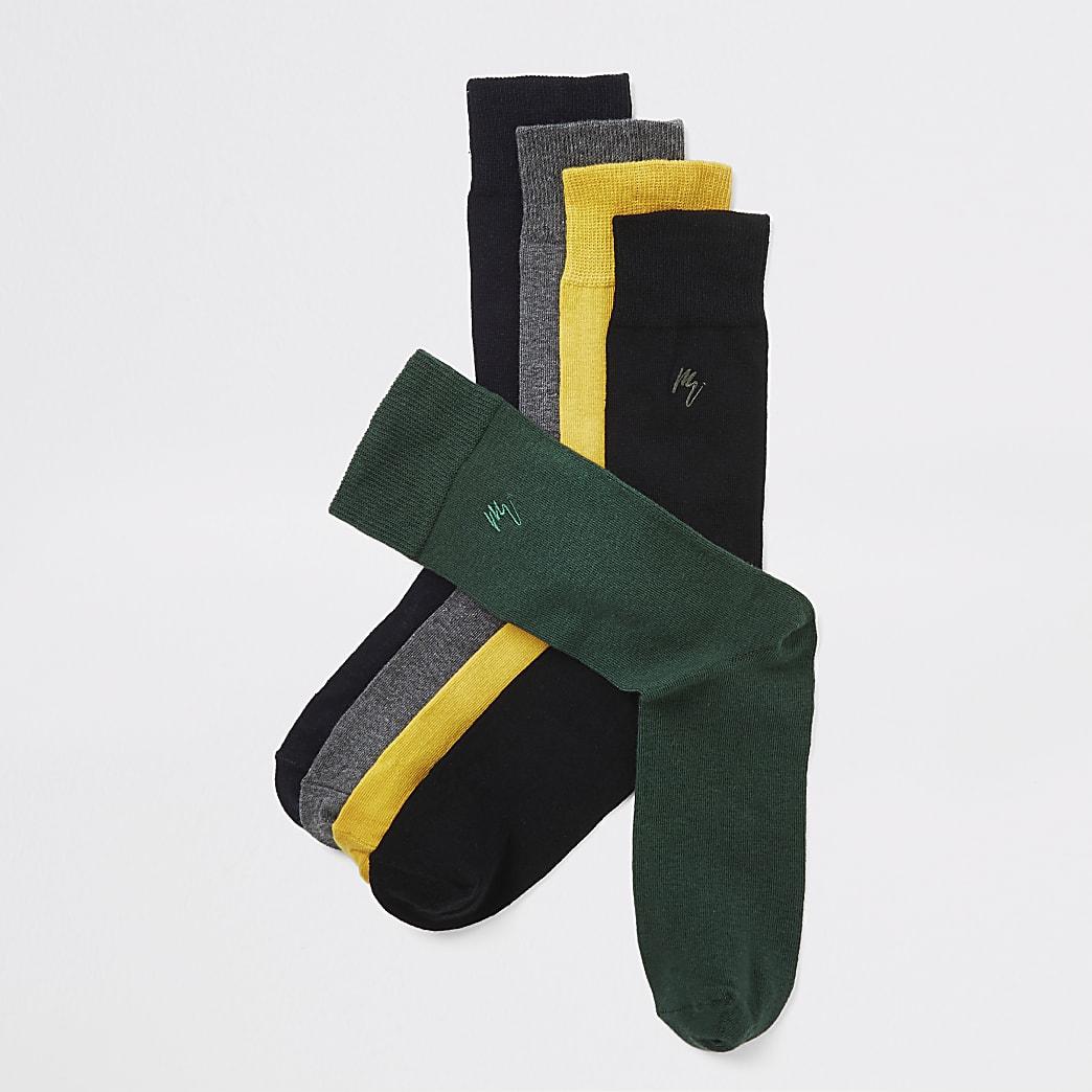 Maison Riviera - Set van 5 paar meerkleurige sokken