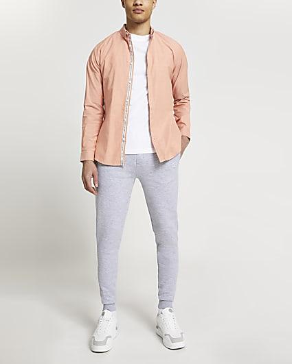 Maison Riviera orange long sleeve shirt