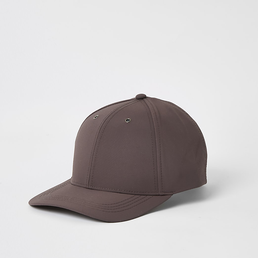 Maison Riviera purple nylon cap