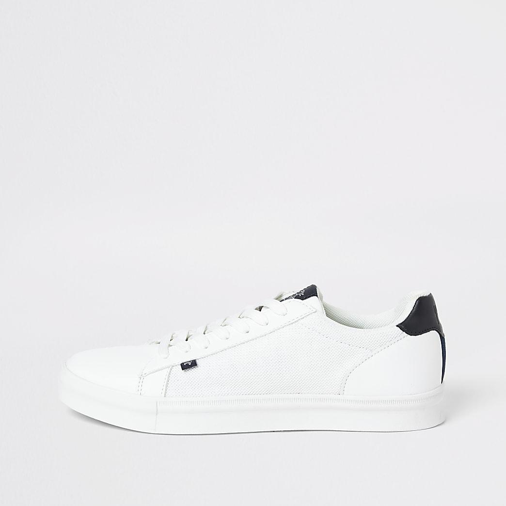 Maison – Baskets blanchesà lacets