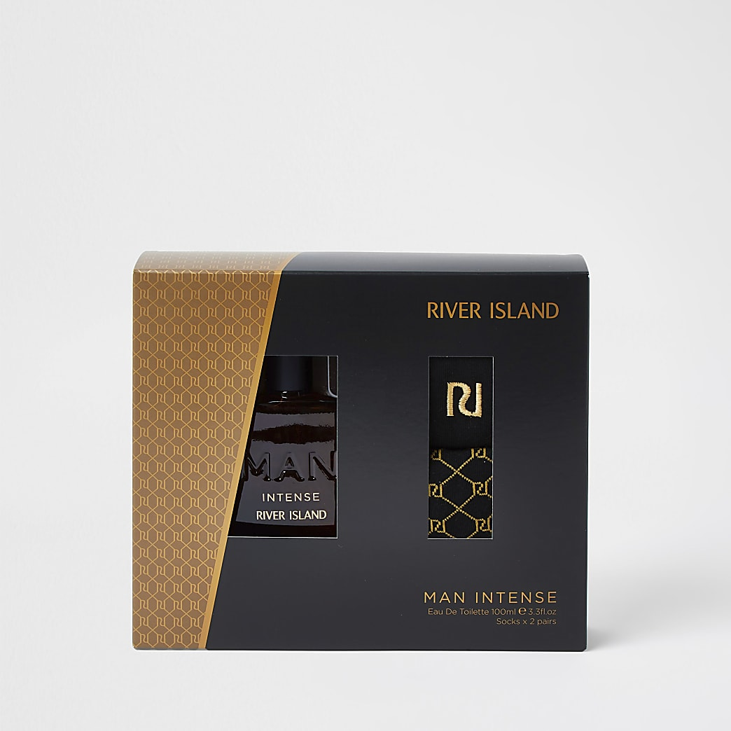 Man Intense Eau De Toilette and Socks Set
