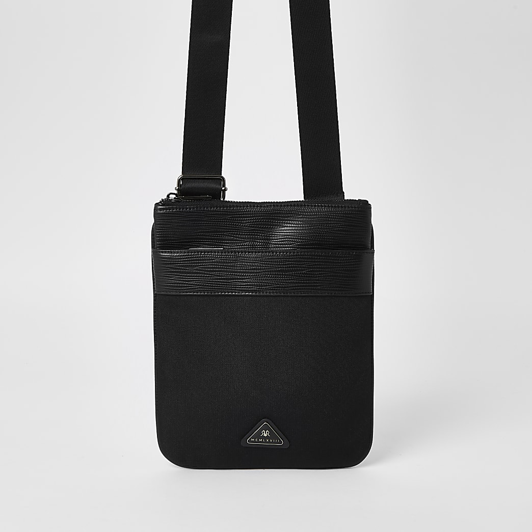 MCMLX black cross body bag