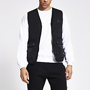 MCMLX black gilet jacket