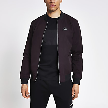 MCMLX dark red bomber jacket