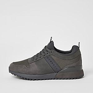 MCMLX– Graue Sneaker zum Schnüren