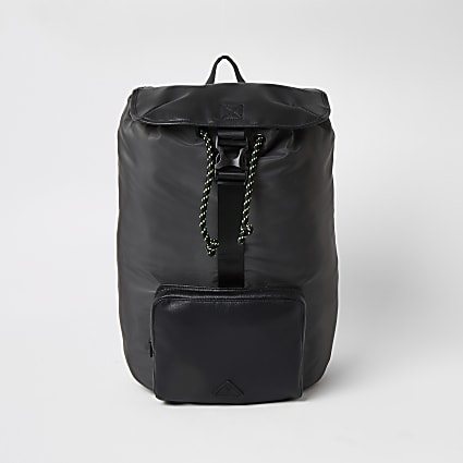 MCMLX grey pocket front nylon backpack