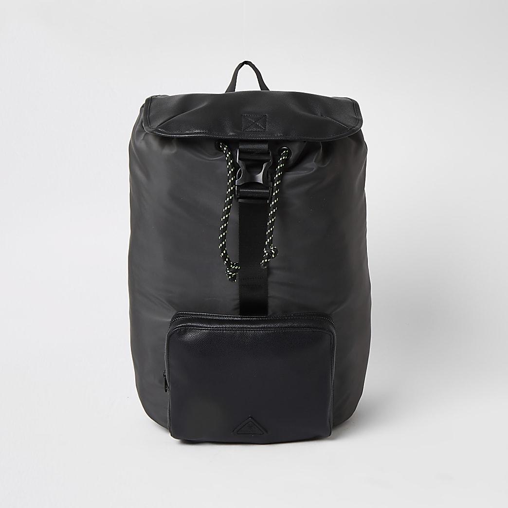 MCMLX - Grijze nylon rugzak met zak voor